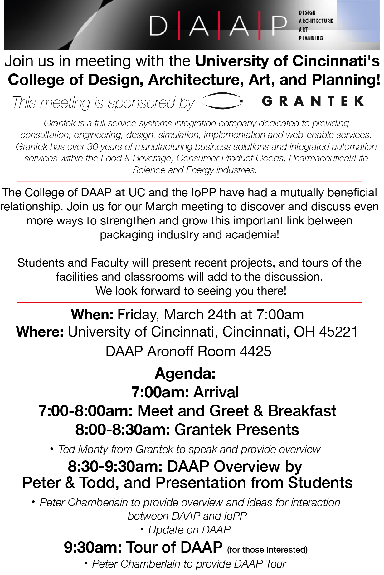 Cincinnati Chapter Institute Of Packaging Professionals